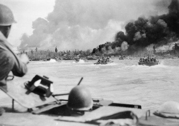Высадка десанта Союзников.
