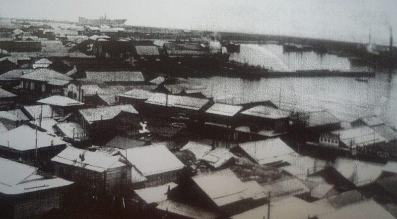 Центр города Маока.