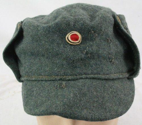 Шерстяной кепи пехоты образца 1934 года.