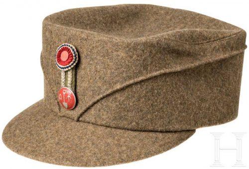 Кепи сотрудников Норвежской трудовой службы образца 1942 г.