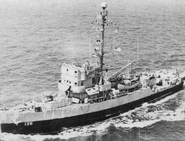 Тральщик USS Admirable, ставший Т-331 в ВМФ СССР. Колд Бей, июнь 1945 г.