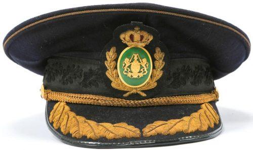 Фуражка старшего офицера полиции.