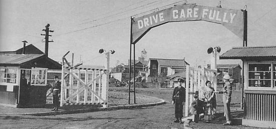 Тюрьма Сугамо, где содержались обвиняемые во время процесса. 1946 г.