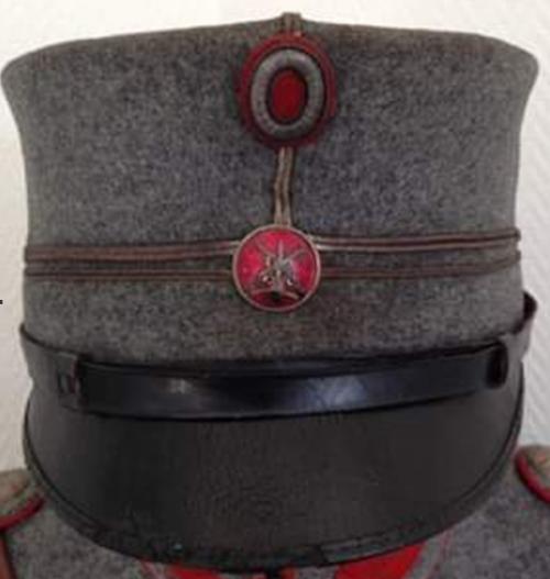 Армейский кепи различных родов войск и званий.