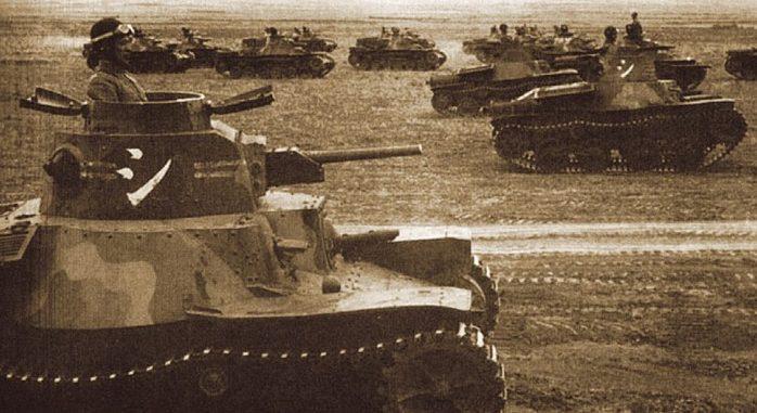 Танковые учения Квантунской армии. Август 1945 г.