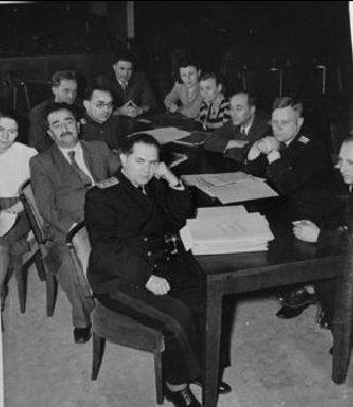 Советская группа обвинителей. 1945 г.