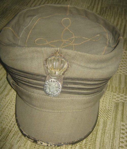 Кепи пехотного майора.