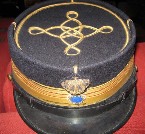Кепи полковника пехоты к парадной форме.