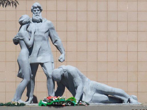 с. Константиновка Мелитопольского р-на. Памятник жертвам Холокоста.