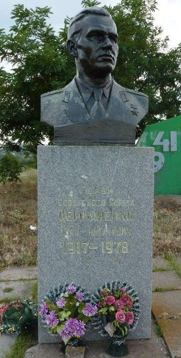 Бюст Герою Советского Союза И.Н. Демьяненко.