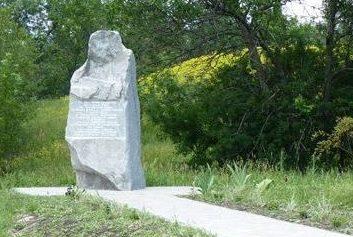 с. Смородино Вольнянского р-на. Памятный знак на месте командного пункта 8 гвардейской армии.