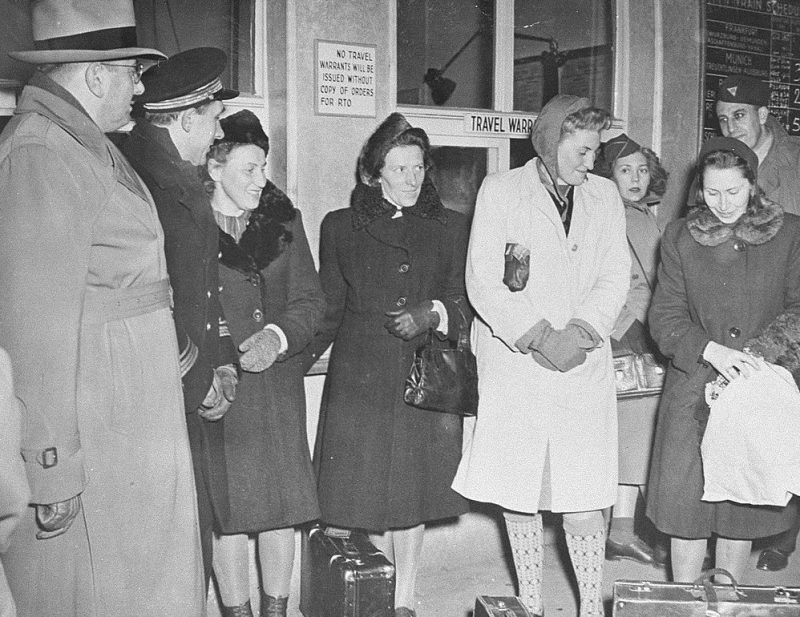Польки – свидетели по делу врачей. 1947 г.