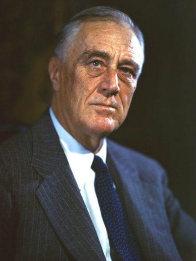 Рузвельт в 1944 году.