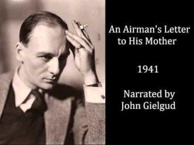 Письмо летчика к его матери