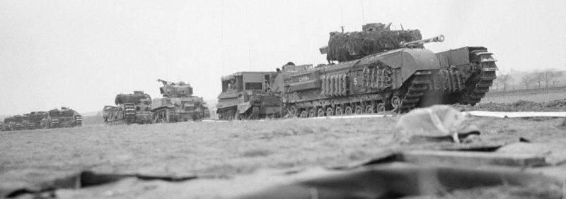 Британская армия в наступлении.