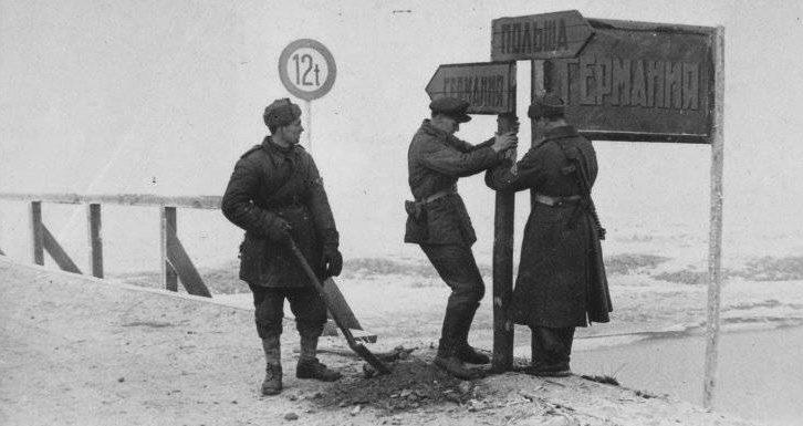 Советские войска вышли на границу Германии.