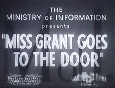Мисс Грант идет к двери