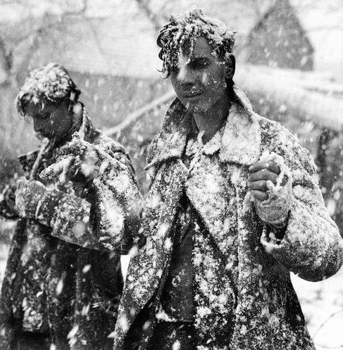 Военнопленные немцы.