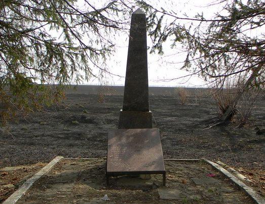с. Веселое Великописаревского р-на. Братская могила советских воинов.