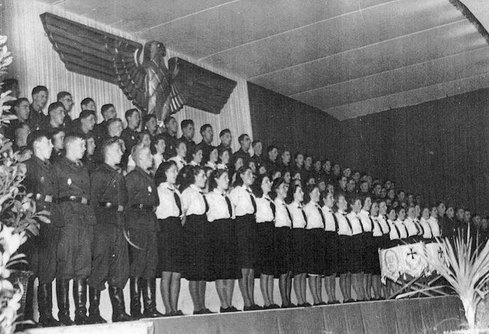 Нацисты в Люксембурге. 1941 г.