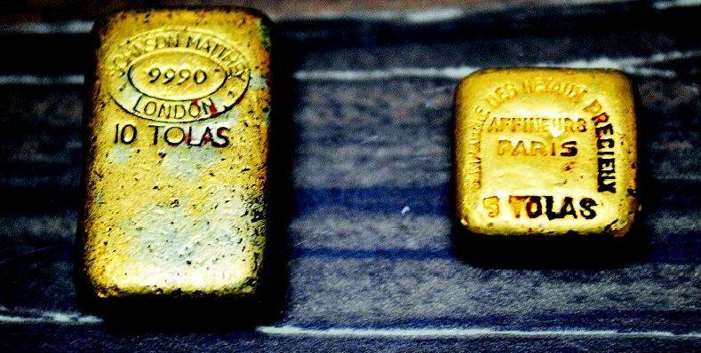 Золото найдено в земснаряде.
