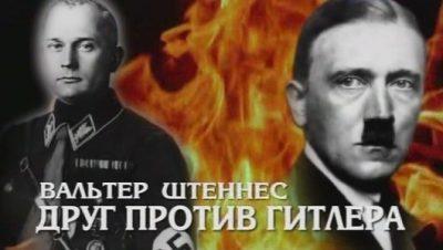 Вальтер Штеннес. Друг против Гитлера