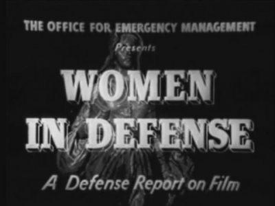 Женщины в обороне