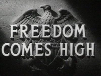 Свобода стоит дорого