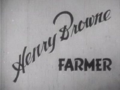 Генри Браун, фермер