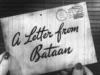 Письмо от Батаана