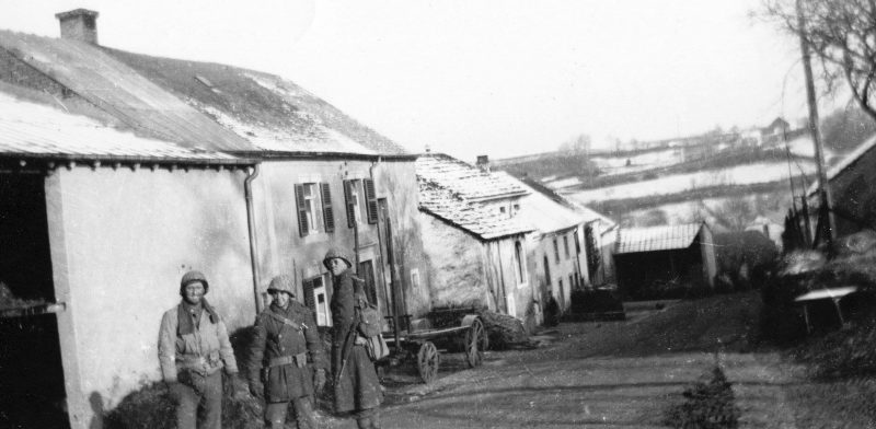 Рождество в Хостерте-Фольшетте. Декабрь 1944 г.