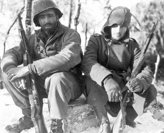 Солдаты 26-й пехотной дивизии. Вильц, 1945 г.