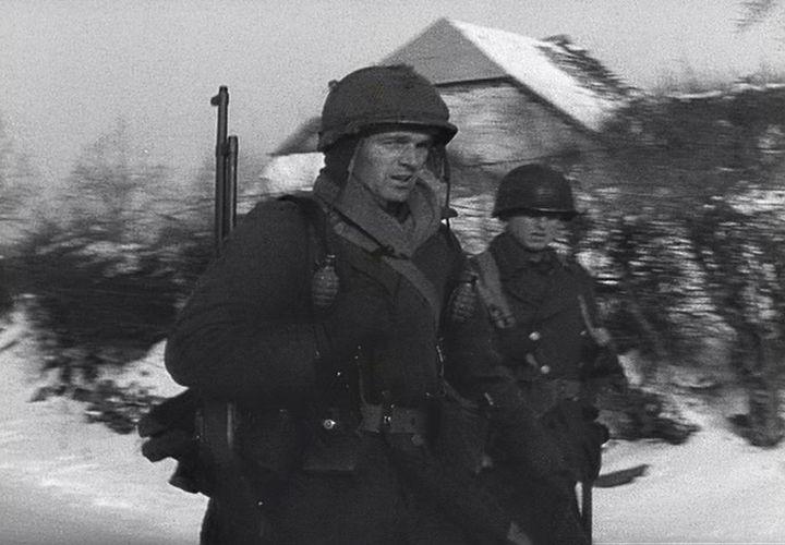 Американцы входят в Харлангу. Январь 1945 г.