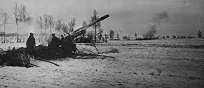 Бои под городом. Январь 1944 г.