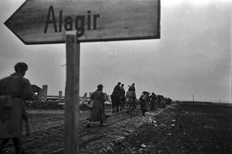 Наступление Красной Армии под Нальчиком.