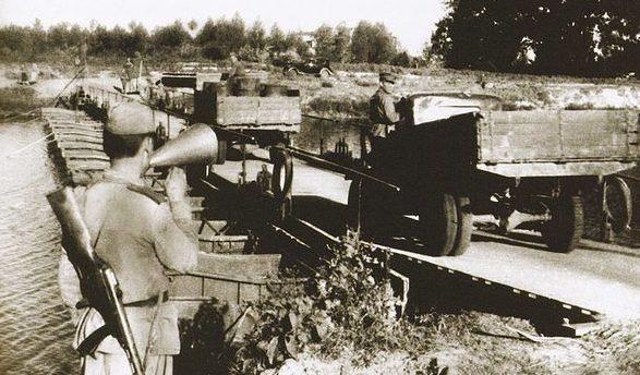 Переправа Красной Армии у Сум. Сентябрь 1943 г.
