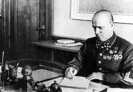 Начальник Генерального штаба РККА Г.К. Жуков. 1941 г.