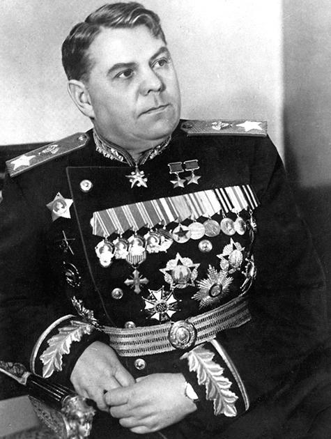 Начальник ГШ РККА А. М. Василевский.