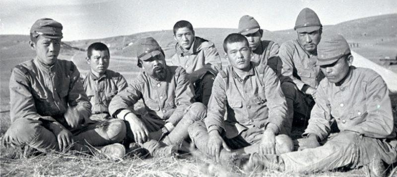 Пленные солдаты 6-й (Квантунской) армии. 1939 г.