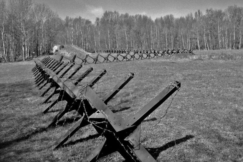 Один из чехословацких опорных пунктов обороны.