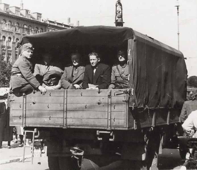 Задержанные офицеры датской армии. 29 августа 1943 г.