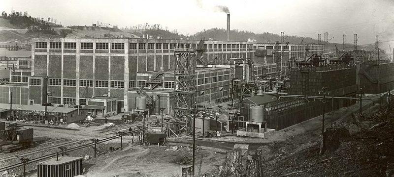 Строительство комплекса Y-12. 1942 г.