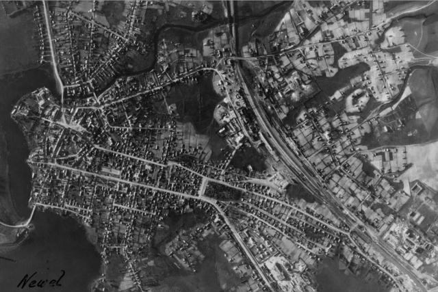 Немецкая аэрофотосъемка города. 1941 г.