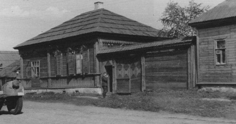 Немцы в городе. Июль 1941 г.