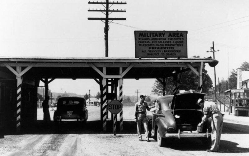 Контрольно-пропускной пункт в Ок-Ридже, штат Теннеси.