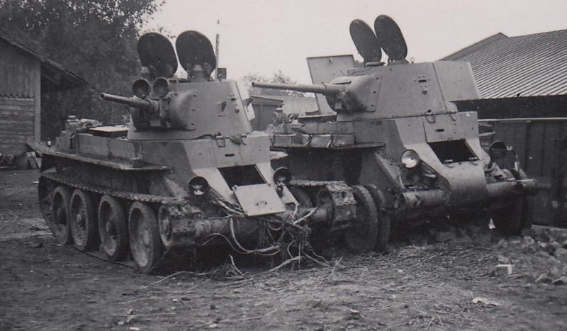 Немецкие трофеи. 1941 г.