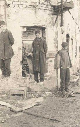 Казнь советских патриотов. 1941 г.