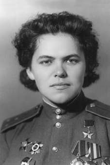 Герой Советского Союза, штурман Руфина Гашева.