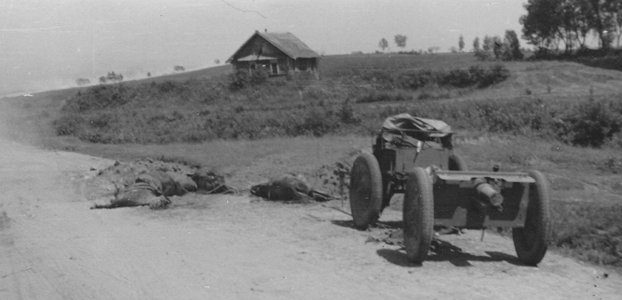 Окрестности Ярцево. Июль 1941 г.