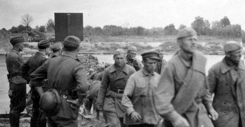 Советские военнопленные. 1941 г